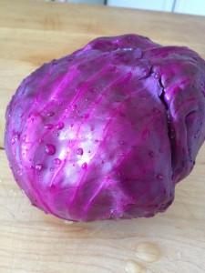 homemade sauerkraut | stems and all